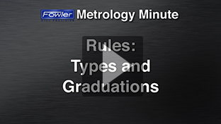 Metrology Minute: Rules