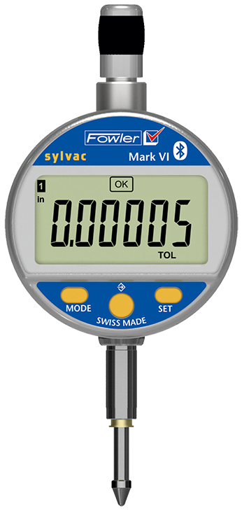 Digital Deflection Meter : Fowler quot mm mark vi electronic indicator with