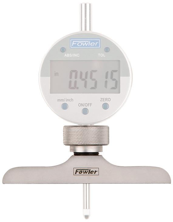 Fowler Indicator Accessories : Fowler depth base attachment