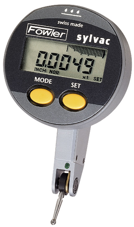 Digital Indicator Parts : Fowler quot mm quadratest multimode electronic test