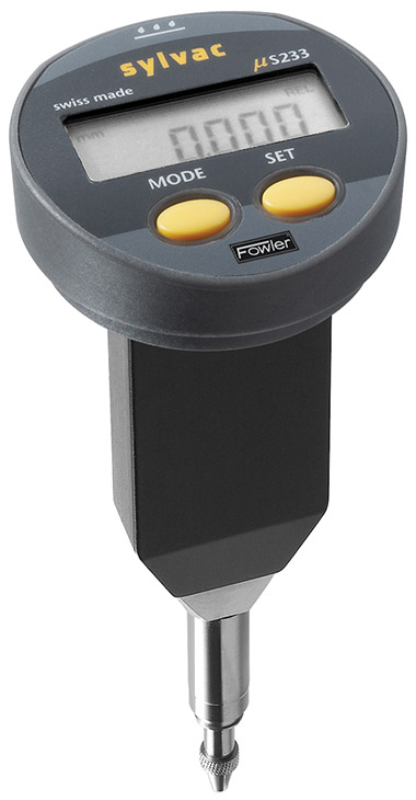 Ip65 Electronic Mini Resistant Indicator 54 520 680 3 : Mm vertical ip mini resistant electronic indicator