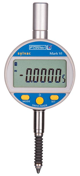 Fowler Digital Indicator : Fowler mm mark vi electronic indicator with